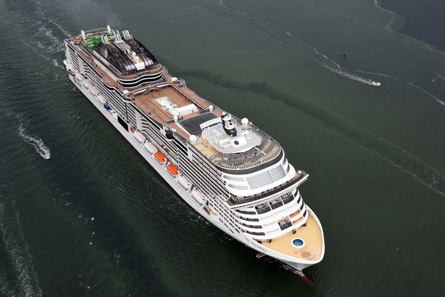 MSC Grandiosa is ready to sail! - Societe Generale